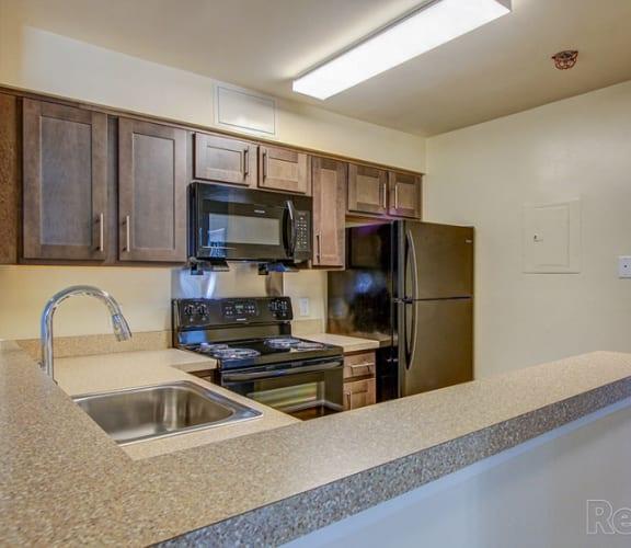 Apartment kitchen-Clarendon Court Apartments Arlington, VA