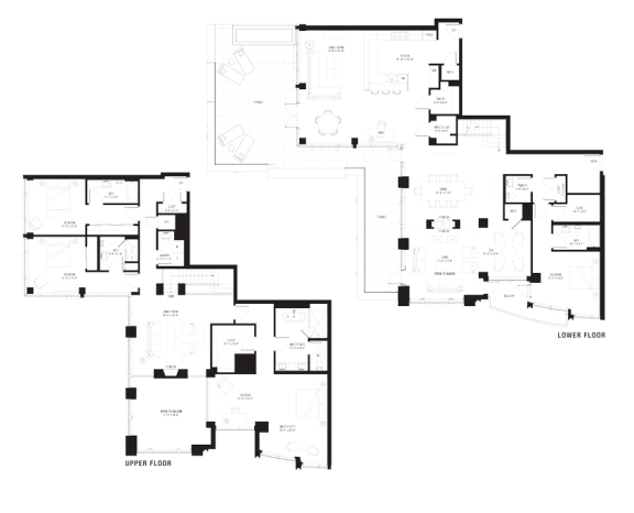 North 3103 penthouse at The Bravern, Bellevue, WA