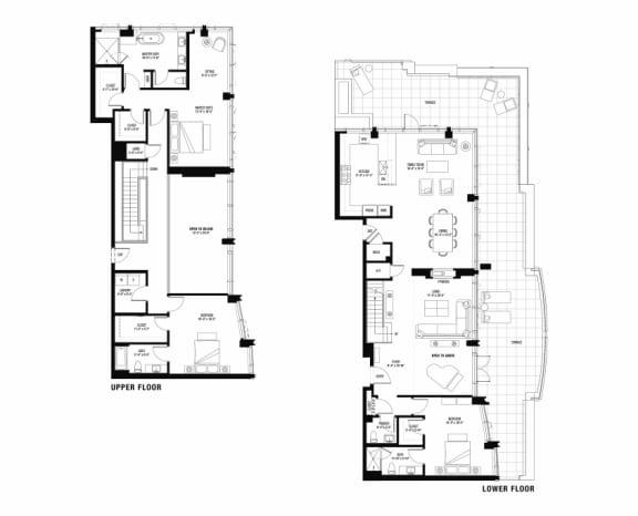 South 3104 penthouse at The Bravern, 688 110th Ave NE, WA
