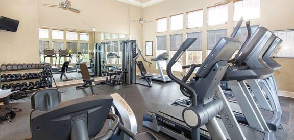 High-Tech Fitness Center at Echo Ridge Apartments, Colorado, 80108