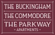 The Buckingham The Commodore The Parkway Apartments logo
