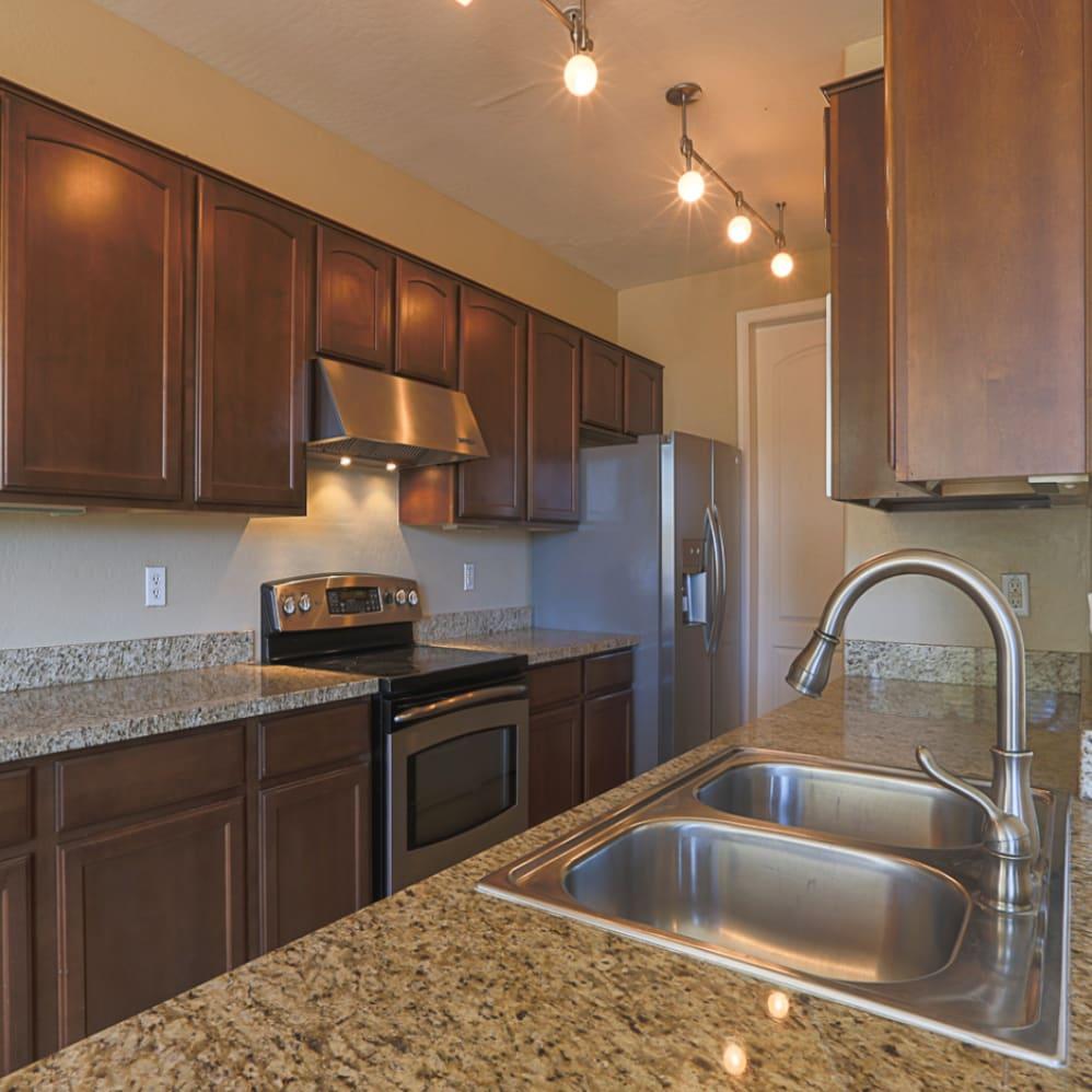 Kitchen at Villa Contento Apartments in Scottsdale, AZ