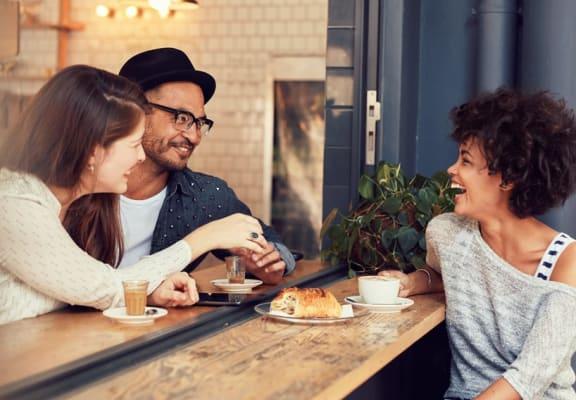 Oak Meadows Apartments - Friends Laughing