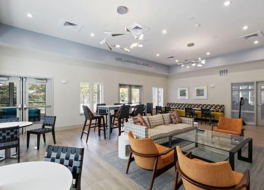 Resident Lounge at Waterside at Reston, Virginia