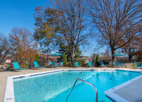 Resort Inspired Pool with Sundeck at Nob Hill Apartments, Nashville, 37211