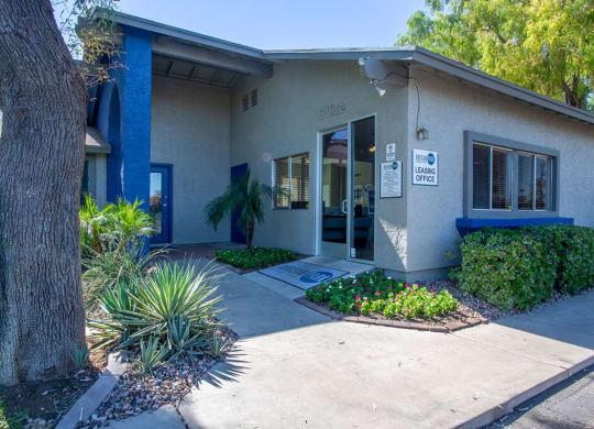 leasing office entrance