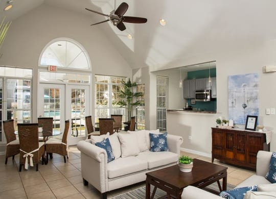 Litchfield Oaks Apartments clubhouse on Pawleys Island
