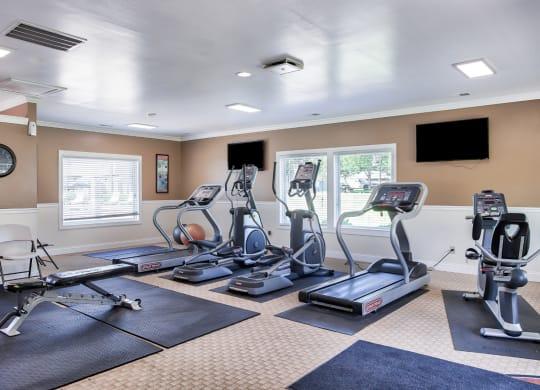 Fitness Center Woodbridge Apartments