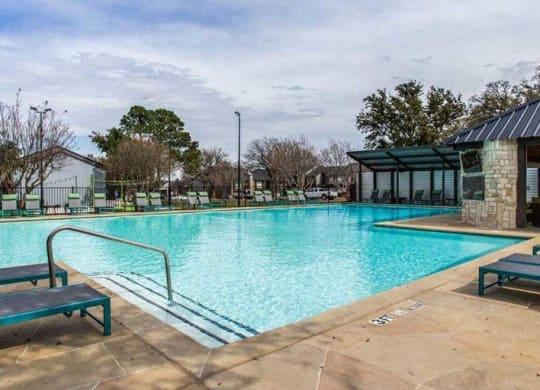 Pool at Amp at the Grid, Texas