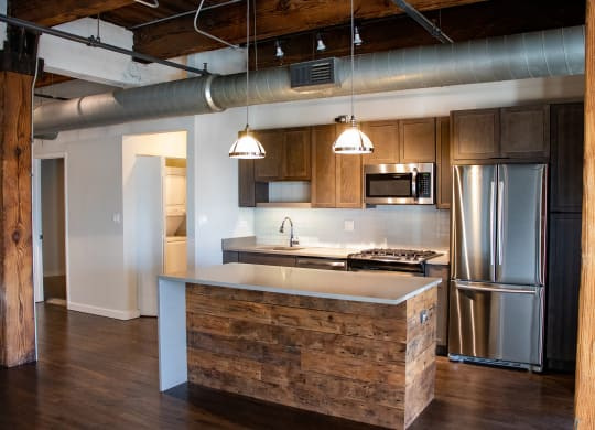 Kitchens with Islands at the Lofts at Gin Alley, Chicago, IL 60607