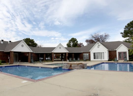 Germantown, NC Apartments - The Trails at Mt. Moriah Pool Area