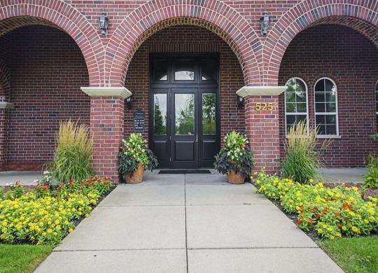 Leasing Center Entrance