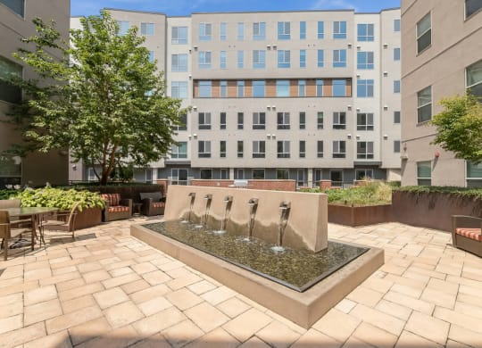 Incredible Indoor and Outdoor Amenity Spaces at The Manhattan Tower and Lofts, Denver, Colorado
