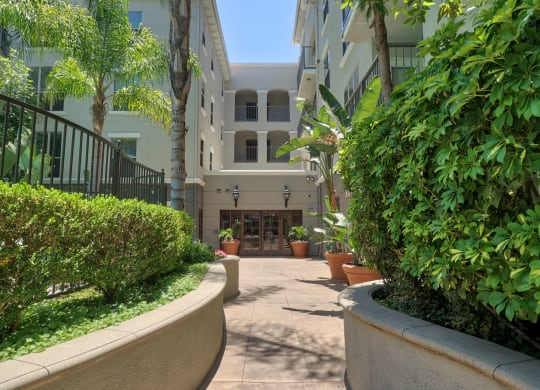 Amazing Outdoor Spaces at Windsor Lofts at Universal City, Studio City, California