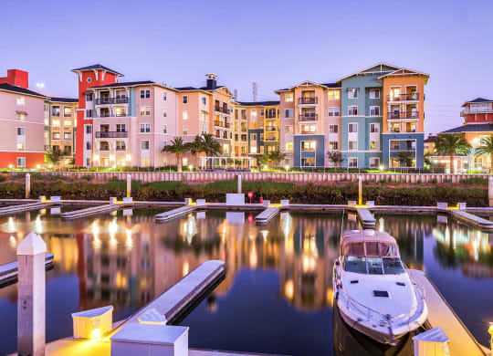 Marina slips available for rent at Blu Harbor by Windsor, Redwood City, California