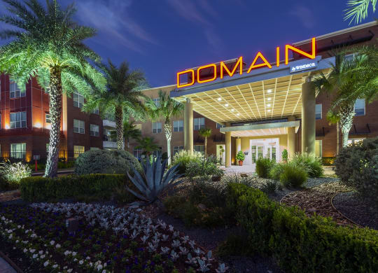 Front entrance At Domain by Windsor,1755 Crescent Plaza, Houston, TX 77077 Welcome to Domain by Windsor