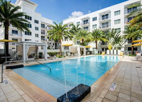 Salt water Swimming Pool at Windsor at Pembroke Gardens, Pembroke Pines, Florida
