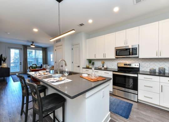 Chef inspired kitchens at Elevate West Village, 4520 Pine Street, GA