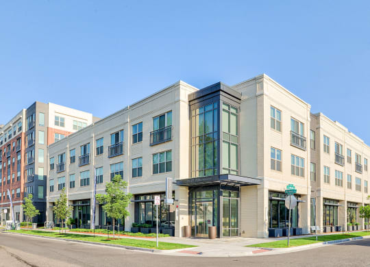 Street view of building exterior at Platt Park by Windsor, CO 80210