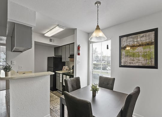 Open Concept Dining at Toro Place, Texas, 77035