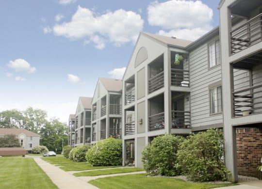 Apartments With Private Balcony or Patio at Emerald Park Apartments, Kalamazoo, Michigan