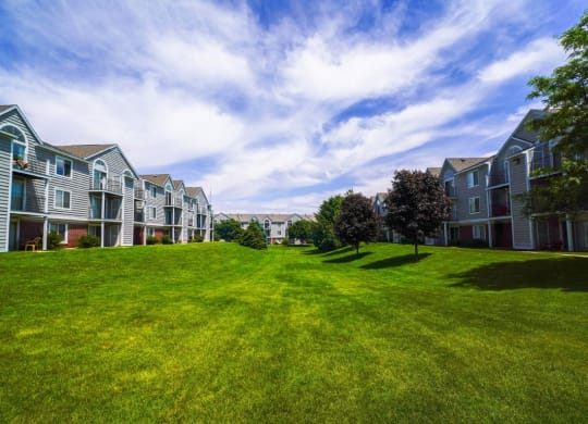 Beautifully Landscaped Grounds at Foxwood and The Hermitage, Portage, 49024