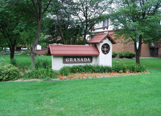 Lush, Green Grounds at Granada Apartments, Michigan, 49202