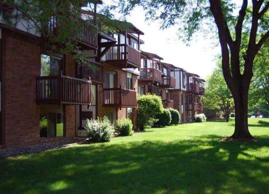 Large Mature Trees at Granada Apartments, Michigan, 49202