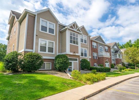 Elegant Exterior View at The Highlands Apartments, Elkhart, Indiana