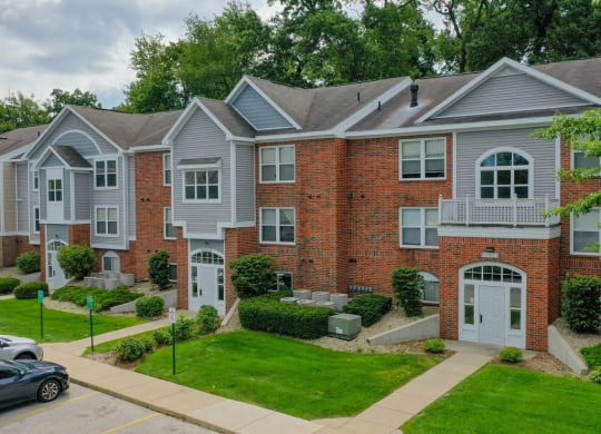 Exterior Property Design at The Highlands Apartments, Indiana, 46514