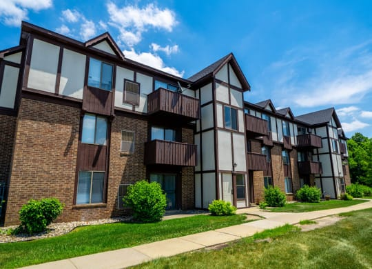 Property View at Irish Hills Apartments, South Bend, IN, 46614