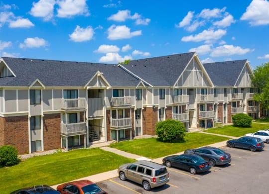 Plenty of Off Street Parking at Waverly Park Apartments, Michigan, 48911