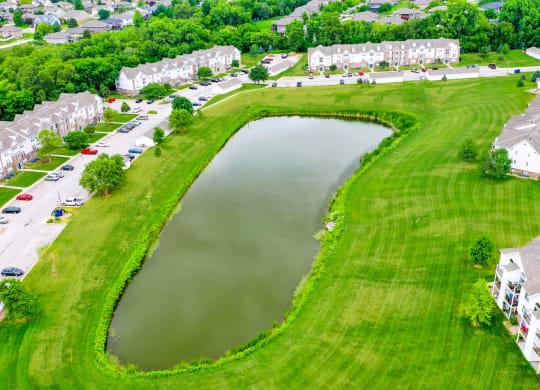 Scenic Views with Ponds at West Hampton Park Apartment Homes, Nebraska