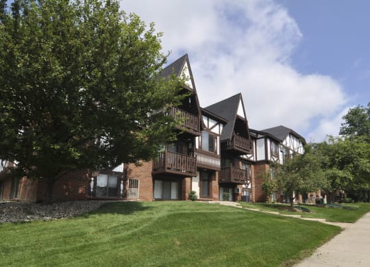 Beautiful Brick Construction at West Wind Apartments, Fort Wayne, Indiana