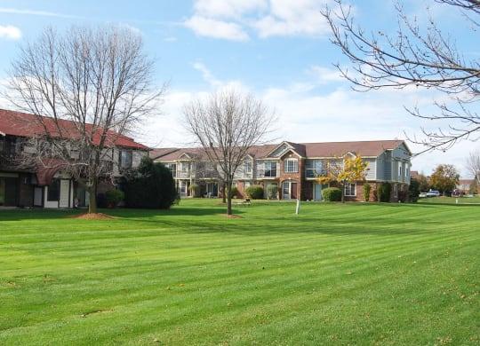 Serene Park Like Setting at Wood Creek Apartments, Kenosha