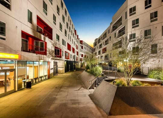 Neighborhood Places at One Santa Fe Residential, Los Angeles, CA, 90012
