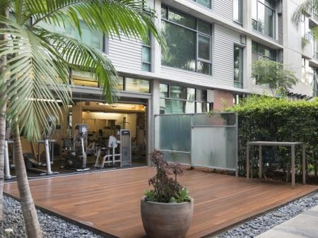 Complete Fitness Center with Sun Deck at Met Lofts, Los Angeles, CA, 90015