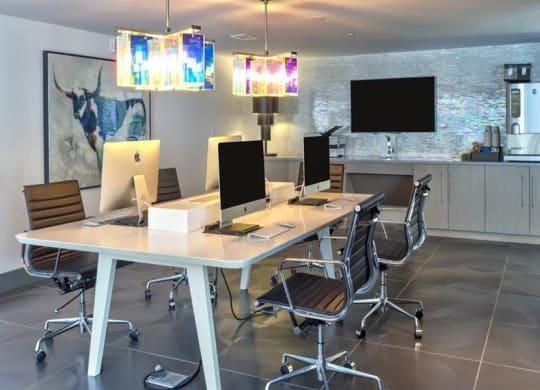 Business center at Berkshire Terminus, Atlanta, GA, 30305