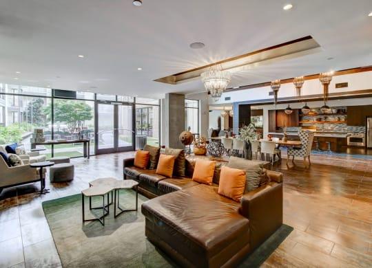 Resident lounge at Berkshire Howell Mill Atlanta, GA