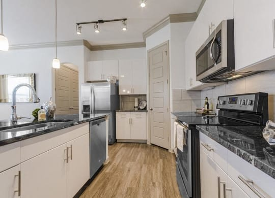 Fully Equipped Kitchen at Villages of Georgetown, Georgetown, TX