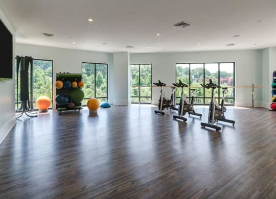Yoga and Spin Studio at Berkshire Dilworth, Charlotte, 28204
