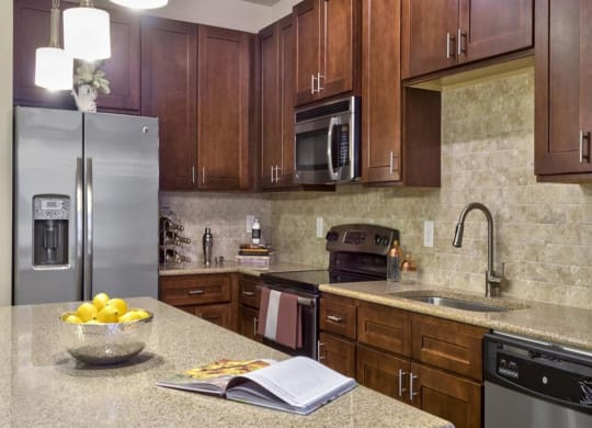 Chef-inspired Kitchen at Berkshire Cameron Village, Raleigh, NC, 27605
