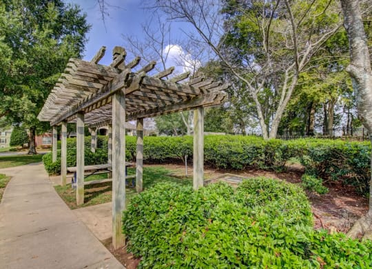 Relaxing outdoor spaces at Wyndchase Aspen Grove in Franklin, TN