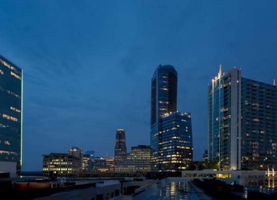 Atlanta skyline view at Berkshire Terminus, Atlanta, 30305