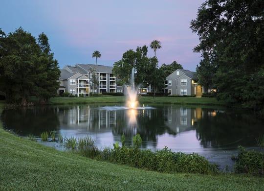 Lake With Lush Natural Surrounding at Lee Vista 5743 Bent Pine Drive, Orlando, FL