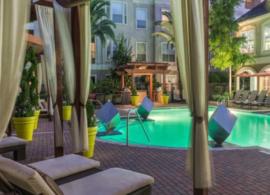 Resort Styled Pool at Providence Uptown, Houston, TX, 77056