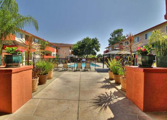 Property Entrance  at Californian, California