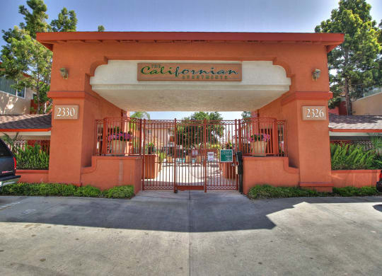 Front Entrance To Property at Californian, California, 94040