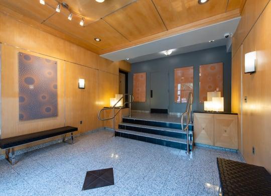 Spacious Lobby at Barclay
