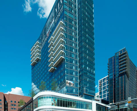 Exterior View Of The Clubhouse at The Benjamin Seaport Residences, Boston